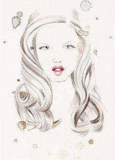 . : 제시카의 Murrieta 패션 일러스트