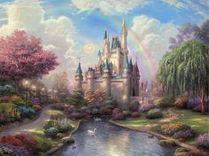 Sleeping Beauty Castle - Thomas Kinkade
