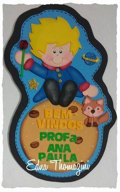 Kit Sala de Aula Pequeno Príncipe - Edna Thomazini - Ateliê Criativo