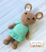 Holly the Honey Bear- A Free Crochet PatternHolly the Honey Bear- A Free Crochet Pattern
