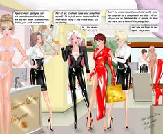 Andy unwittingly becomes more compliant with his feminisation Sweet Andy Femdom Captions, Tg Captions, Prissy Sissy, Drawn Art, Lady Jane, Sissy Maid, Sissy Boys, Sexy Latex, Latex Fashion
