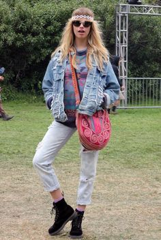 Street Style Fashion – Festival Clothing at Outside Lands Day One | Free People Blog #freepeople