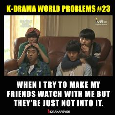 The struggle is real! Watch more dramas with fewer commercials with DramaFever Premium, now as little as $0.99/month!