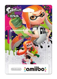 Was £19.85 > Now £9.88.  Save 50% off Splatoon Girl amiibo (Nintendo Wii U/3DS) #3StarDeal, #Under10, #VideoGames
