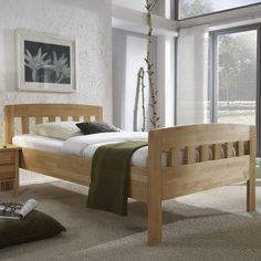 DICO Massivholz Bett 420 Komfort Buche Natur lackiert in verschiedenen Breiten - DICO Betten günstig online kaufen