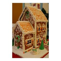 Pinterest / Search results for gingerbread house via Polyvore