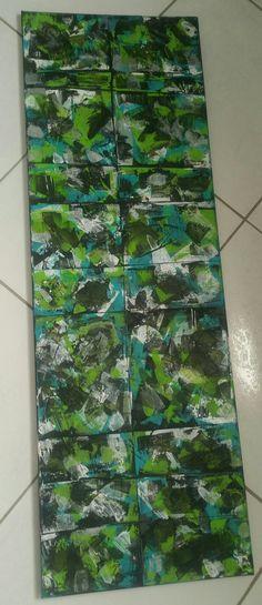 Acrylique Abstrait. Belmonte Adeline