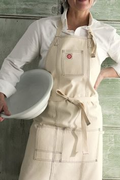 Raw Materials Design Classic Chef Apron/Navy