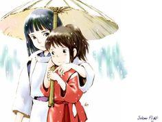 haku and shihiro...