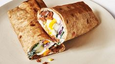 It's a wrap griddled in sausage fat until the outside is crispy and warm. Just keep the sausage intact at first rather than crumble it into pieces—this helps the meat develop a nice crust. Breakfast Wraps, Protein Packed Breakfast, Breakfast Quiche, Breakfast For Dinner, Breakfast Dishes, Best Breakfast, Breakfast Recipes, Breakfast Sandwiches, Quiche Recipes