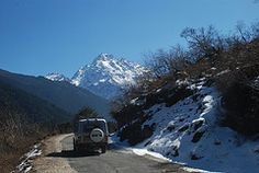 Towards Lachung from Yumthang, North Sikkim