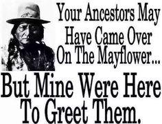 I had ancestors on both sides!