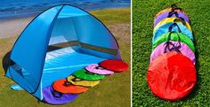 These awesome pop up tents are perfect for a day at the beach, park or even your back yard. It is a great way to shade your little ones in the hot summer sun.…