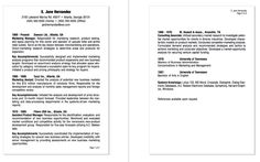Example Of Cv Inspiration Examples Of Chronological Order Resume  Httpexampleresumecv .