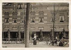 Breda, Hotel Liesbosch. Verwoest in 1945 door een V1.