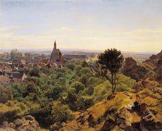View to Mödling, 1848 Ferdinand Georg Waldmüller