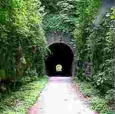 The Tunnel Hill State Trail...have ridden various portions with my family but I am most proud of riding uphill from Vienna to the tunnel and back....solo.