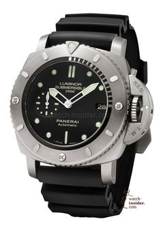Panerai Luminor Submersible 1950 2500m 3 Days Automatic Titanio 47mm PAM00364 2k13