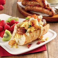Hot-dogs déjeuner - 5 ingredients 15 minutes