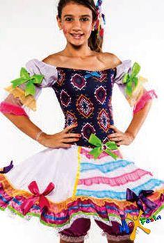 Os mais lindos modelos de Vestidos Caipiras para Festa Junina 2017: Inspire-se e escolha o seu vestido de festa junina preferido!