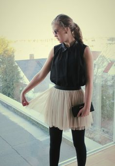 skirt from JC ! top from Vero Moda ! wallet from Michael kors