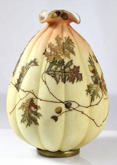 Mount Washington Crown Milano Vase
