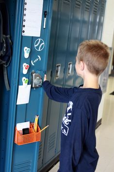 Back to School Organizing: Pimp My Locker #DIY #supply #school
