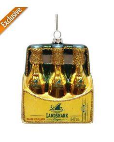 Margaritaville Beer 6-Pack Ornament