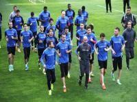 Kardemir Karabükspor Kayserispor ile oynayacağı Spor Toto Süper Lig 31.Hafta maçının hazırlıklarını sürdürdü.
