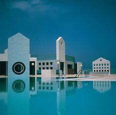 Aquasun Lido, Paceville, Malta, 1987 — Richard England