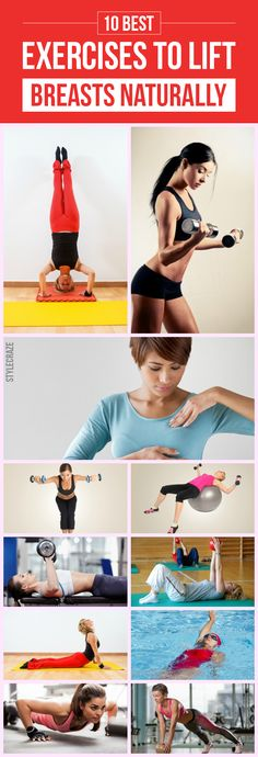 10 Best Exercises To Lift Breasts Naturally-Tired of sagging breasts? We have come up with a simple and effective solution for you. Here are the 10 best exercises to lift breasts naturally for you to check out