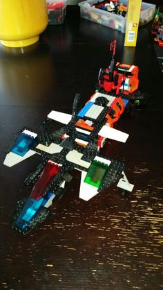 My Bro's starship.  I did the front,  he did the back.