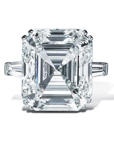 Graff Square Cut Diamond Ring