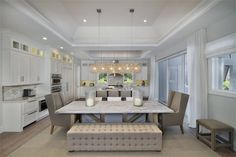 A gorgous dinning room to entertain guest! - See more at: https://www.dfdhouseplans.com/plan/1817/ #houseplan #homeplan #modern #luxurious #floorplan #homesearch #househunting