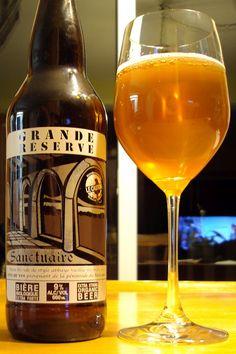 Sanctuaire (Grande Reserve) - Microbrasserie Le Castor craftbeerquebec.ca #bièreduquébec #bière #microbrasserie #craftbeer #drinkcraft #boirelocal #craftbeerqc #beer #beerreview