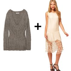 Make your slip dress work for Fall #stylingtips