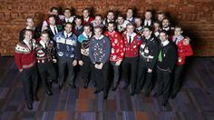 Dice & Ice 2013 - Holiday sweaters - 12/12/2013 - Vancouver Canucks - Photos