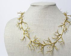 Branch Necklace by Hannah Blount Jewelry