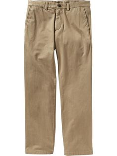 Old Navy Mens Straight Ultimate Khakis Size 48 W (30L) Big - Kicking up dust | 42% OFF