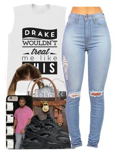 """""""He Wouldn't.."""" by nasiaamiraaa ❤ liked on Polyvore featuring Michael Kors, River Island, MICHAEL Michael Kors, NIKE, Maison Margiela and NanaOutfits"""