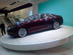 The new Lincoln MKZ. I love this car. Yeah, this will be my next car. (dreaming)