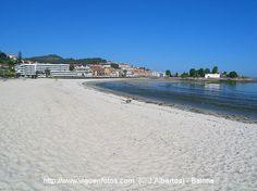 Plaia Ladeira, Baiona, Galicia, Spain