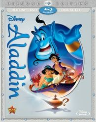 Aladdin: Diamond Edition (Blu-ray/DVD/Digital HD) Climb aboard for a magical carpet ride with nonstop laughs, action-packed adventure and Academy Award(R) Aladdin 1992, Aladdin Movie, Watch Aladdin, Disney Movie Club, Disney Movies, Disney Disney, Frank Welker, Disney Blu Ray, Blu Ray Collection