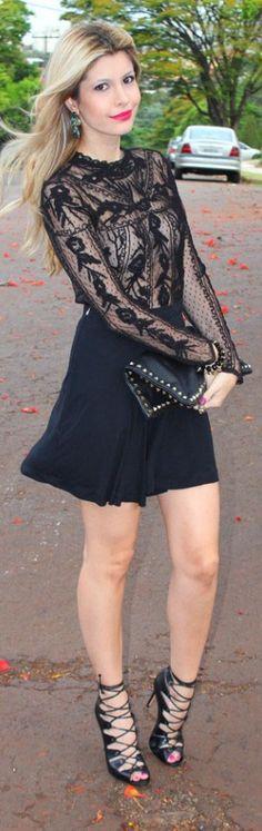 #skirt #outfit <3 little black dress