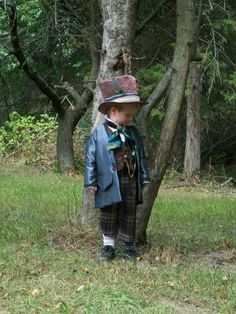 Vintage Style Mad Hatter Costume - Custom Boys Sizes. $305.00, via Etsy.