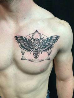 Death's head moth tattoo  #deathmothtattoo #tattoo #tattoos