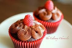 raspberry cupcakes - Google Search
