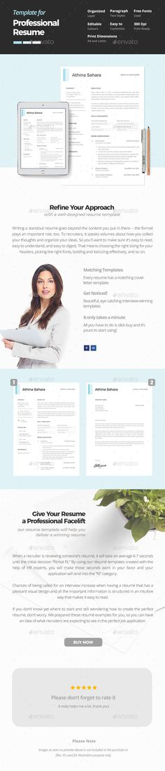 Resume u2014 Photoshop PSD #resume word #employment u2022 Available here - simple resumes