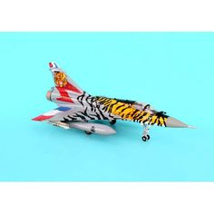 Hogan Tiger Meet Mirage 2000 Plastic Model Aircraft