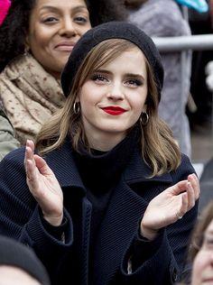 Emma Watson at the Women's March in Washington DC (January 21, 2017) @lilyriverside